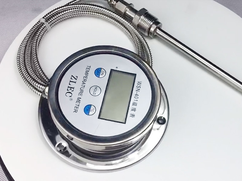 Pressure Type Cutsomized Probe And Cable Digital Thermometer