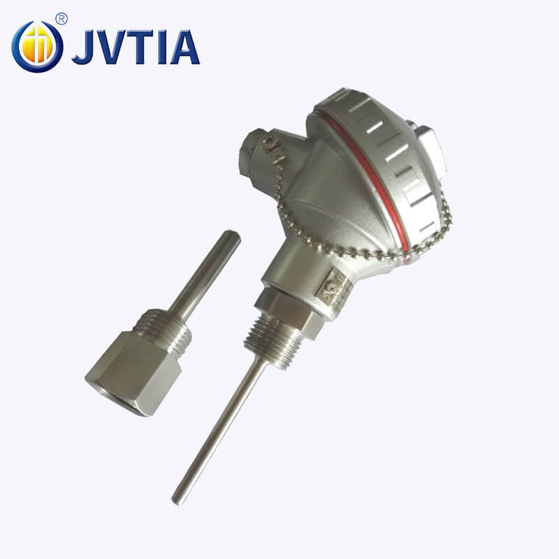 WZP-231 PT100 RTD 6mm Probe Customized Length Thermal Resistance With Thermowell
