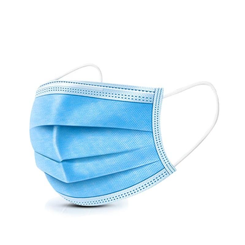 FDA Earloop 3 Ply Protective Disposable Facial Mask