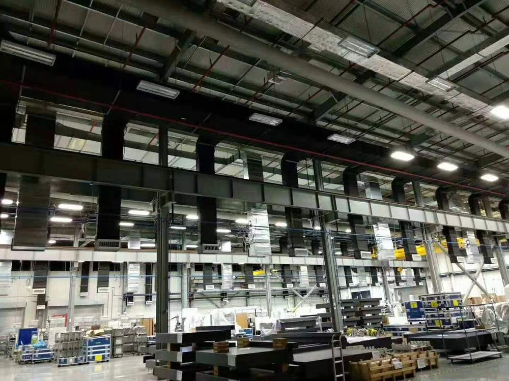 HVAC System Ventilation Fabric Soft Air Duct