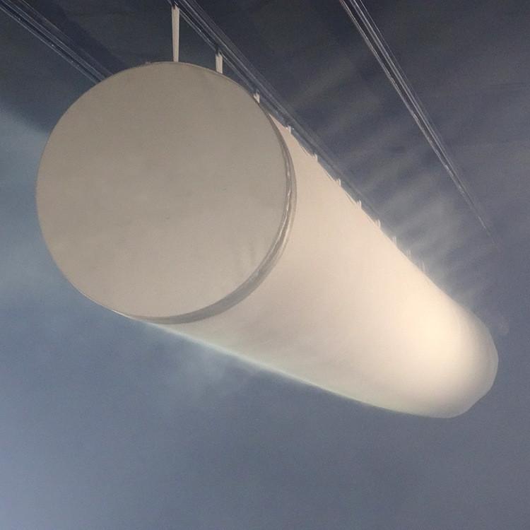 Customized HVAC System Flame retardant Air duct Badminton Gymnasium Natatorium Fabric Air Duct